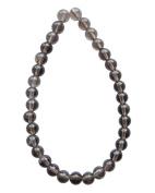 Tennessee Crafts 1385 Semi Precious Smoky Quartz Round Beads, 6mm