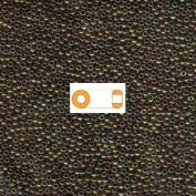Metallic Gold Iris Miyuki Japanese round rocailles glass seed beads 11/0 Approximately 24 gramme 13cm tube