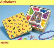 Can of Alphabets Childrens Bead Set
