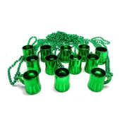 Green Beer Mug Beads : package of 12