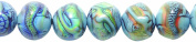 Shipwreck Beads Mirage Polymer Colour Change Mermaids Tale Round Mood Beads, 19mm, 2-pack