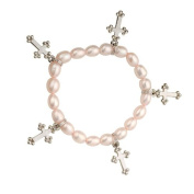 Alexa's Angels Pink Cross Children's Faith Bracelet