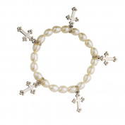 Alexa's Angels White Cross Children's Faith Bracelet