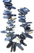 Bead Collection 40134 Sticks Sapphire Sodalite Beads, 23cm