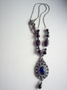 Avon Midnight Blue Necklace