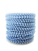 Bead String - 100ft Spool of Baby Blue Beads