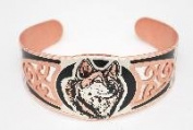 Copper Twilight Bracelet - Wolf
