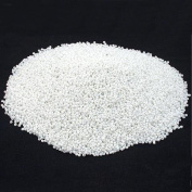 White Glass Seed Beads Beading Sz 11/0 Approx 1/2 Kilo