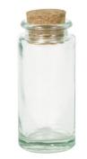 Glass Bottle Jar with Cork Stopper (7cm X 2 Cm)24 Pcs