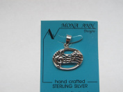 Sterling G Clef & Notes Charm
