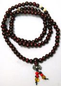Wooden Mala Beads (Redish Brown) 6mm-8mm
