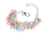 Viva Beads Coral Reef Bracelet | Beaded Mesh Chain | - Handmade Clay Beads Jewellery 05407025