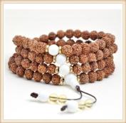 The Art of CureTM (70cm ) Healing Jewellery & Mala meditation beads (108 beads on a strand) Healing Rudraksha beads