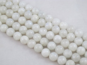 Natural Moonstone Round 12mm White 34pcs 15.5'' Per Strand Gemstone Beads