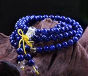 The Art of CureTM (70cm ) Healing Jewellery & Mala meditation beads (108 beads on a strand) Lapis