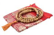 ~ Tibetan 108 Beads Pure 8mm SANDAL WOOD Mala ~