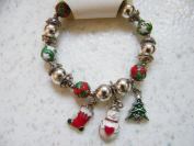 Holiday Wishes Stretch Winter Charm Bracelet