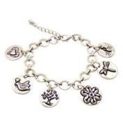 Alexa's Angels Family Token Bracelet