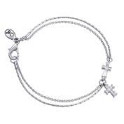 Annaleece Inspiration Bracelet. Elements DeVries Hypoallergenic Nickel-Free INS0006-ANNA