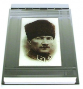 Memo Pad Holder 'Atatürk'