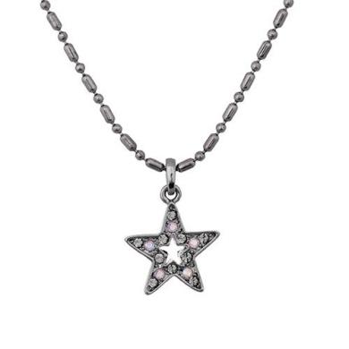 Annaleece Starry Night Necklace. Elements DeVries Hypoallergenic Nickel-Free 1244-ANNA