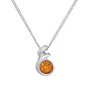 Annaleece November Birthstone Necklace. Elements DeVries Hypoallergenic Nickel-Free ESS10TO-ANNA