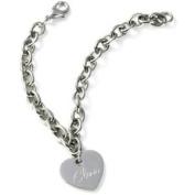 *Best Seller* Personalised Stainless Steel Charm Bracelet