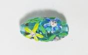 Nancy Pilgrim Flower Fairy Glass Beads.