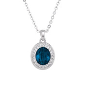 Annaleece Royal Bliss Necklace. Elements DeVries Hypoallergenic Nickel-Free 1258-ANNA
