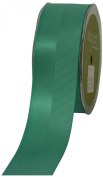 May Arts 1.6cm Wide Ribbon, Teal Satin and Grosgrain
