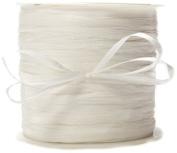 May Arts Ribbon, White Paper Rafia