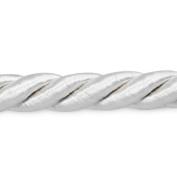 Expo International Rebekah 0.6cm Twisted Cord Trim, 20-Yard, White