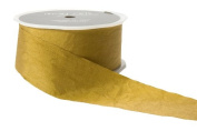 May Arts 3.8cm Wide Ribbon, Moss Solid