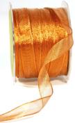 May Arts 1.6cm Wide Ribbon, Metallic Copper