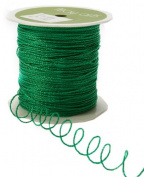 May Arts Ribbon, Parrot Green Wire