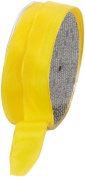 Ampelco Ribbon Company French Wired 27-Yard Taffeta Ribbon, 2.5cm , Yellow