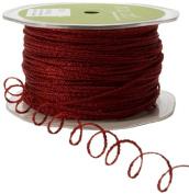 May Arts Ribbon, Burgundy Wire