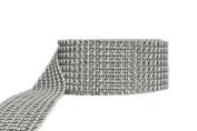 Rhinestone Diamond Ribbon. 3.8cm X 15ft