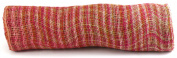 Kel-Toy Mixed Colour Jute Burlap Ribbon Roll, 46cm by 10-Yard, Rose/Fuchsia/Pink