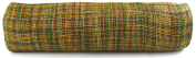 Kel-Toy Mixed Colour Jute Burlap Ribbon Roll, 46cm by 10-Yard, Green/Burgundy/Yellow