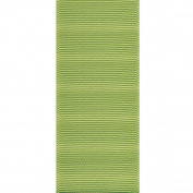 Offray ECO Grosgrain Craft Ribbon, 3.8cm Wide by 50-Yard Spool, Lemon Grass