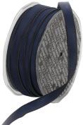 Ampelco Ribbon Company French Wired 54-Yard Taffeta Ribbon, 1cm , Navy Blue