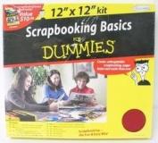 Scrapbooking Basics for Dummies 30cm x 30cm kit