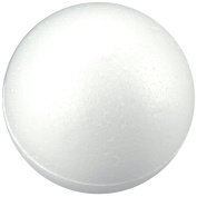 Smoothfoam 6-Pack Balls Crafts Foam for Modelling, 6.4cm , White