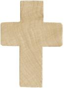 Wood Turning Shapes-Cross 2.5cm - 1.3cm x 3.2cm X1/10cm 4/Pkg
