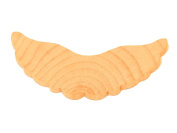 12 - Wing Scalloped - 2-1/4 and 1/8 thick unfinished wood