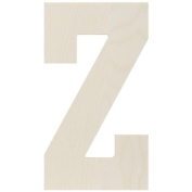MPI Baltic Birch Collegiate Font Letters and Numbers, 34cm