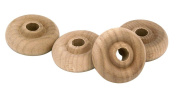 Milescraft 5327 Wood Toy Wheel, 3.8cm