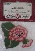 Marigold - 7cm - Pinks - No 4712 - 1 Decorative Wood Piece