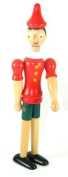 25cm New Pinocchio Toy Figure Doll Wood Italy Articulate Puppet